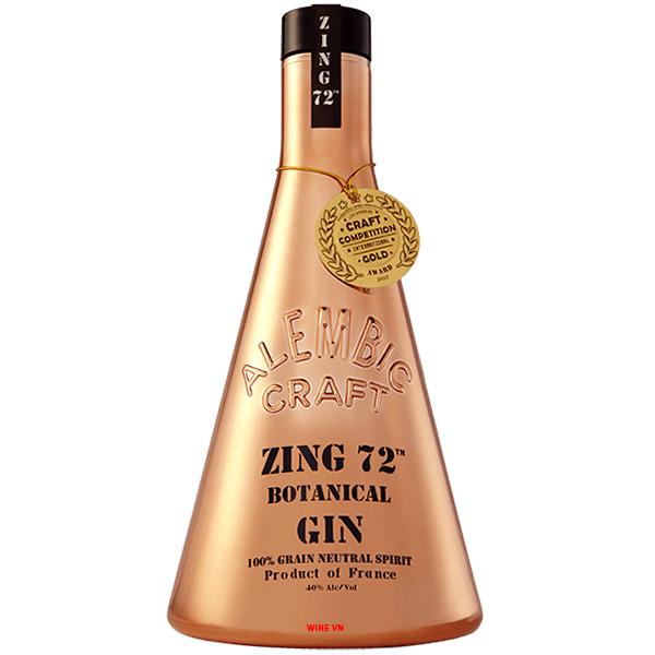Rượu Alembic Craft Zing 72 Botanical Gin