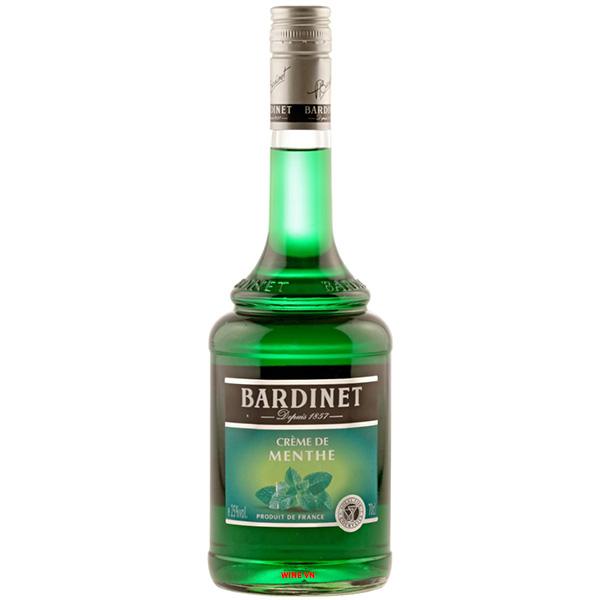 Rượu Bardinet Crème De Menthe Liqueur