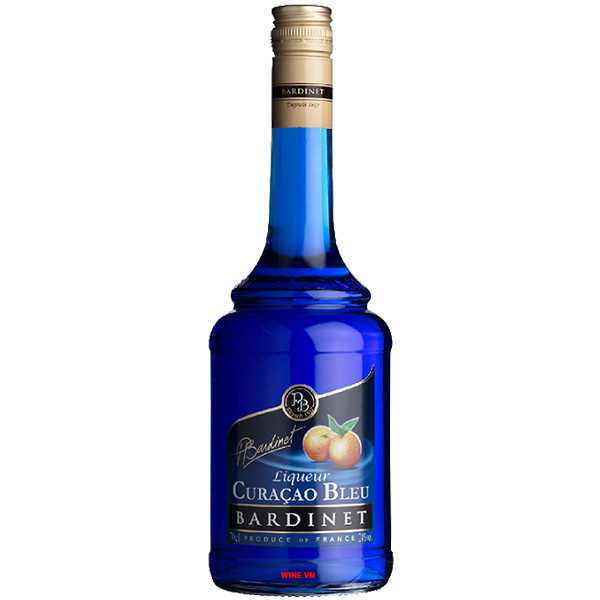 Rượu Bardinet Liqueur Curacao Bleu