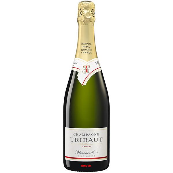 Rượu Champagne Tribaut Schloesser Blanc De Noirs Brut Nature