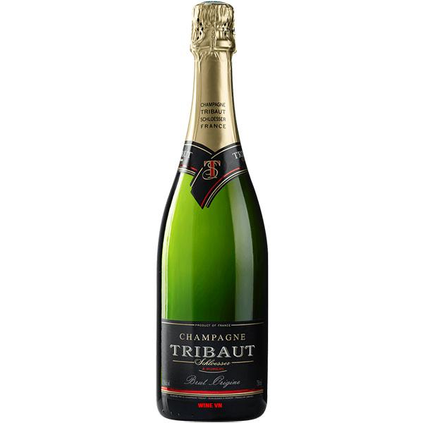 Rượu Champagne Tribaut Schloesser Brut Origine