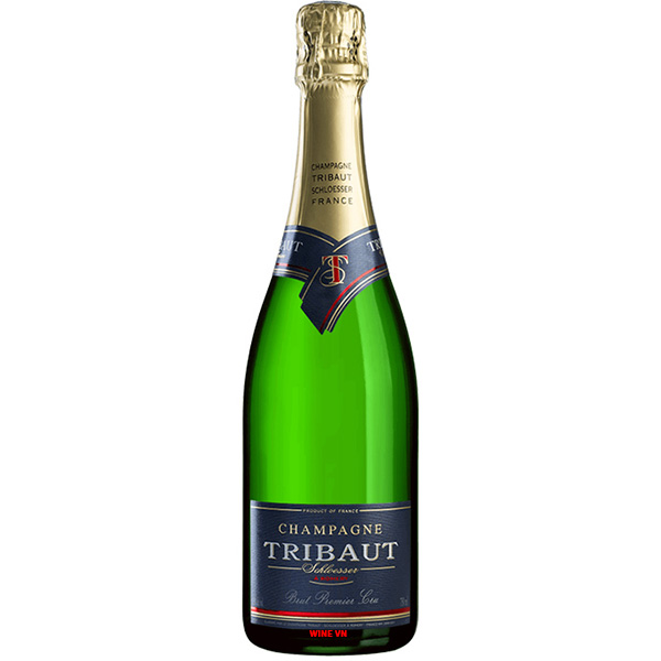 Rượu Champagne Tribaut Schloesser Brut Premier Cru
