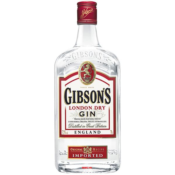 Rượu Gin Gibson's London Dry