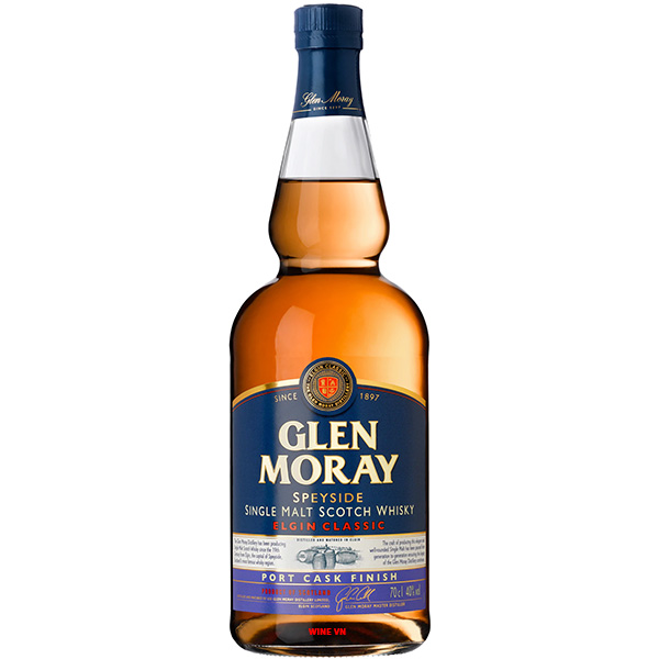 Rượu Glen Moray Elgin Classic Port Cask Finish