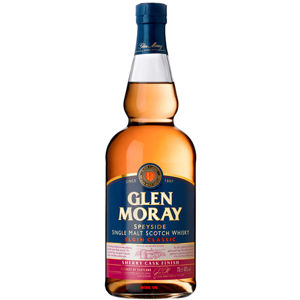 Rượu Glen Moray Elgin Classic Sherry Cask Finish