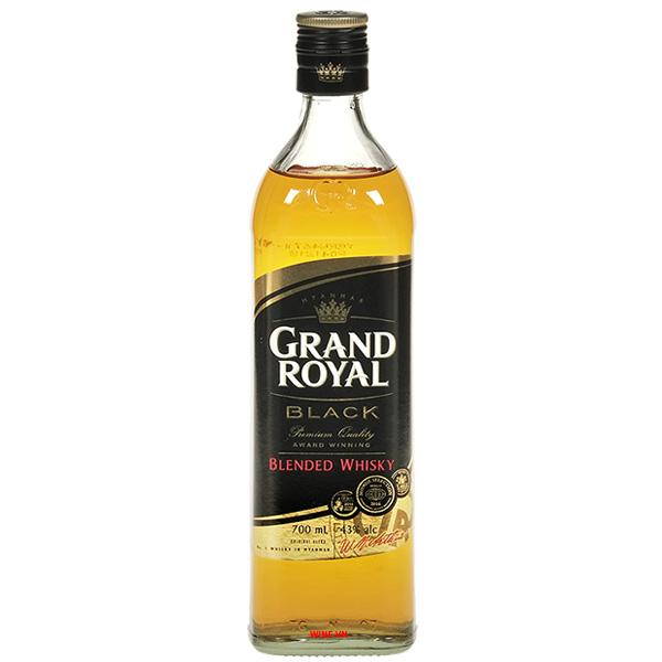 Rượu Grand Royal Black Blended Whisky