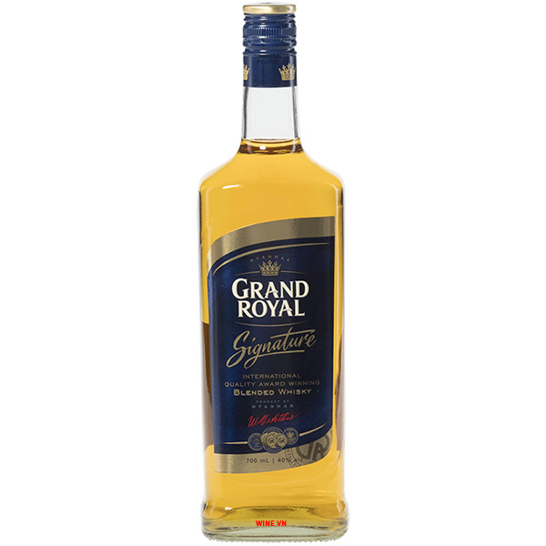 Rượu Grand Royal Signature Blended Whisky