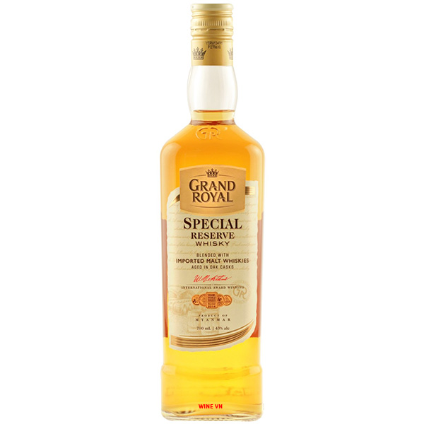 Rượu Grand Royal Special Reserve Whisky