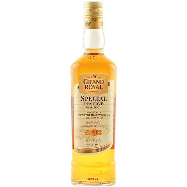 Rượu Grand Royal Special Reserve Whisky