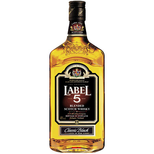 Rượu Label 5 Classic Black