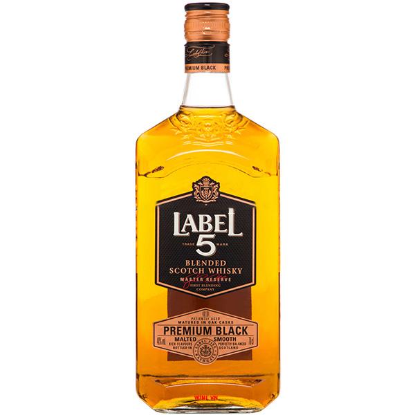 Rượu Label 5 Premium Black