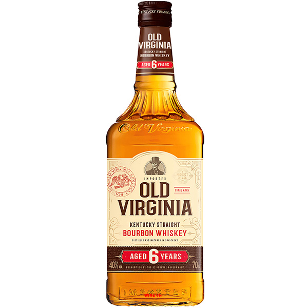 Rượu Old Virginia Bourbon Whiskey 6 Years