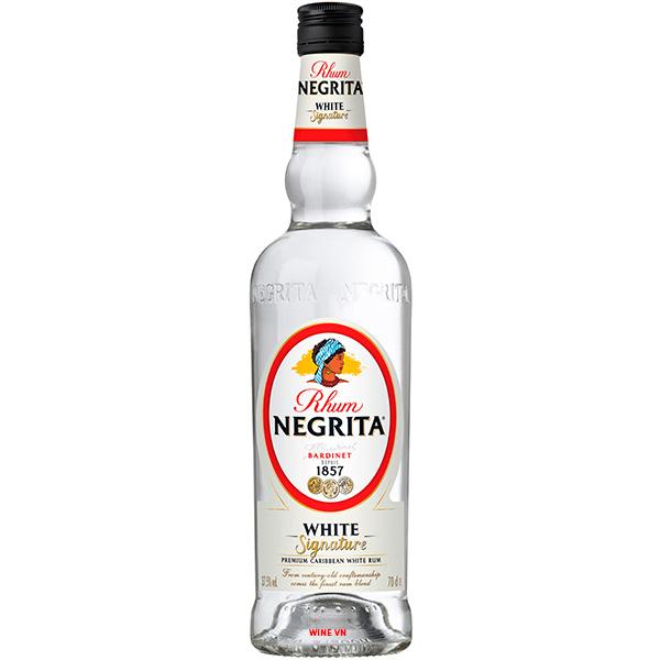 Rượu Rum Negrita White Signature