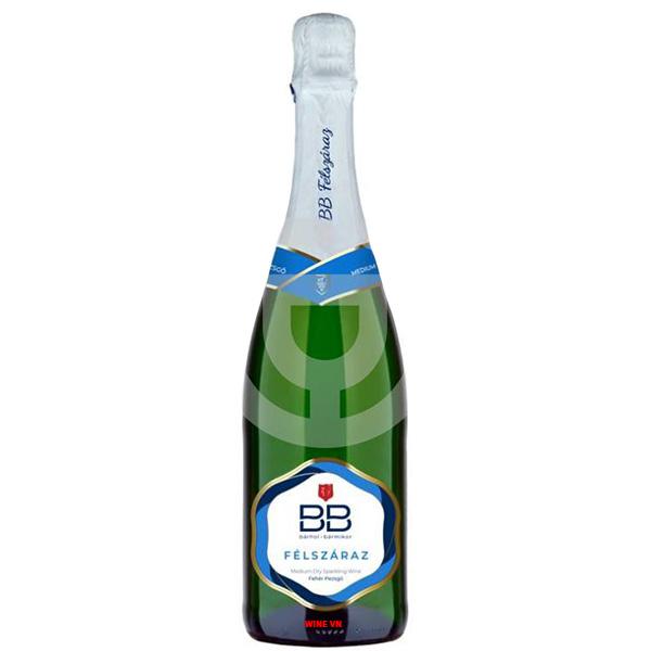 Rượu Sparkling Wine BB Demi Sec