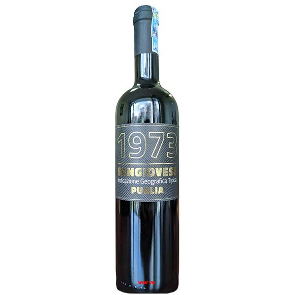 Rượu Vang 1973 Sangiovese Puglia