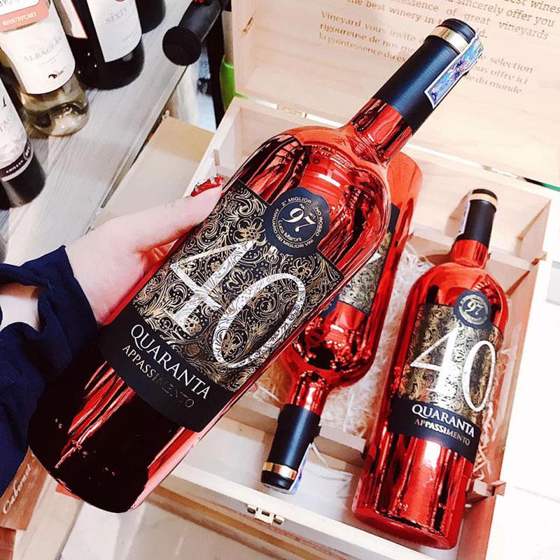 Rượu Vang 40 Quaranta Appassimento