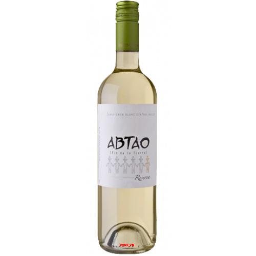 Rượu Vang Abtao Reserva Sauvignon Blanc