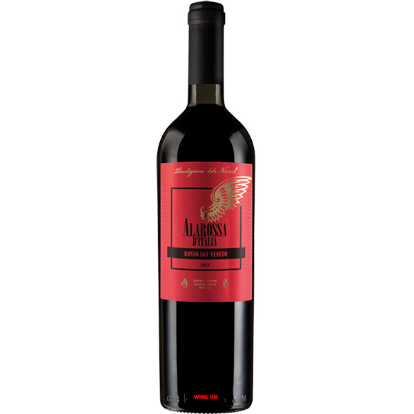 Rượu Vang Alarossa D'italia Rosso IGT Veneto
