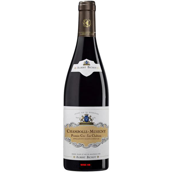 Rượu Vang Albert Bichot Chambolle Musigny Premier Cru Les Chabiots