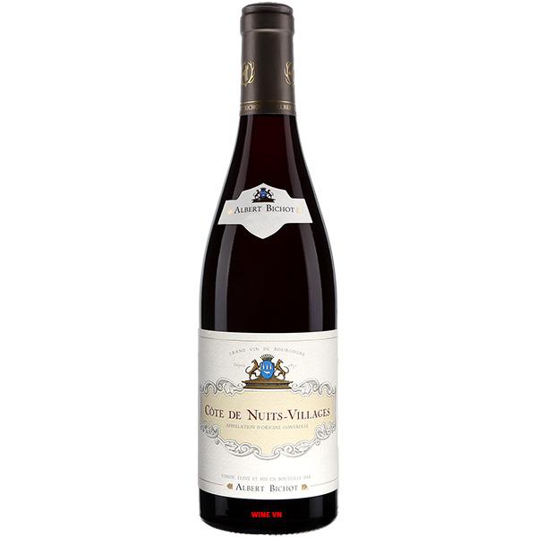 Rượu Vang Albert Bichot Côte De Nuits Villages