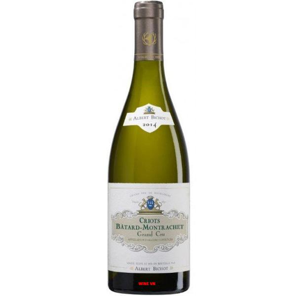 Rượu Vang Albert Bichot Criots Bâtard Montrachet Grand Cru