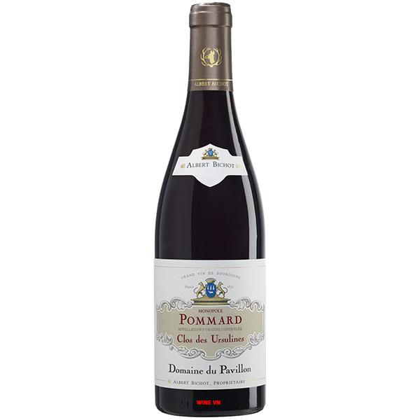 Rượu Vang Albert Bichot Pommard Clos Des Ursulines Domaine Du Pavillon