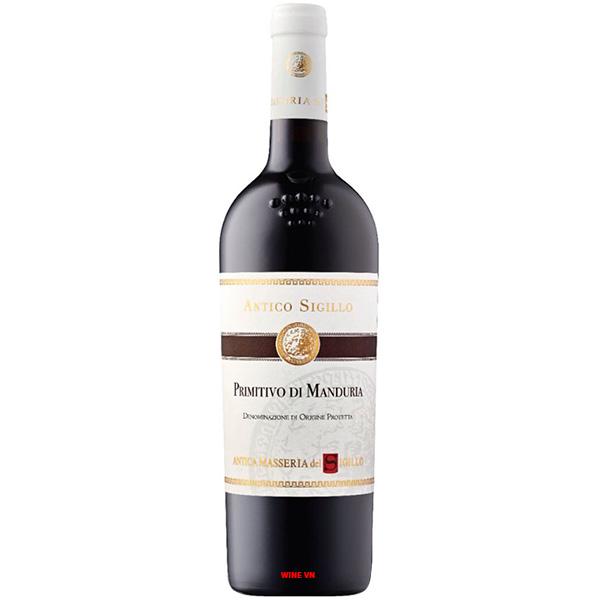 Rượu Vang Antico Sigllo Primitivo Di Manduria