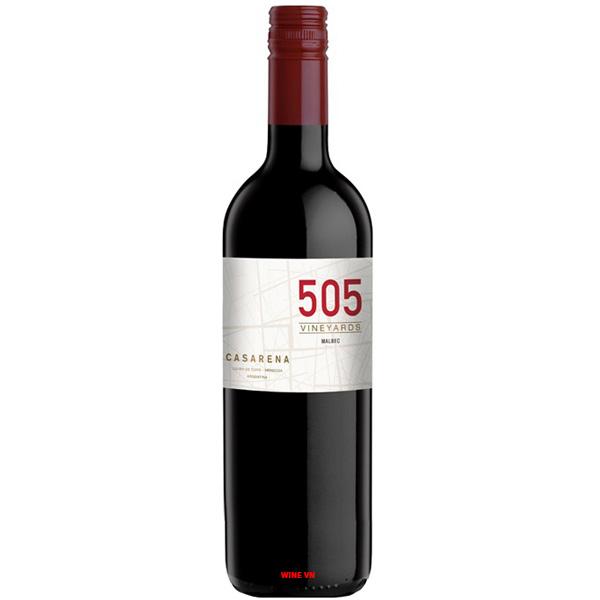 Rượu Vang Argentina Casarena 505 Malbec