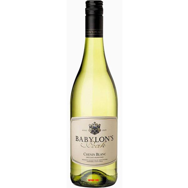 Rượu Vang Babylon's Peak Chenin Blanc