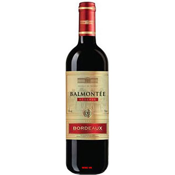 Rượu Vang Balmontée Bordeaux