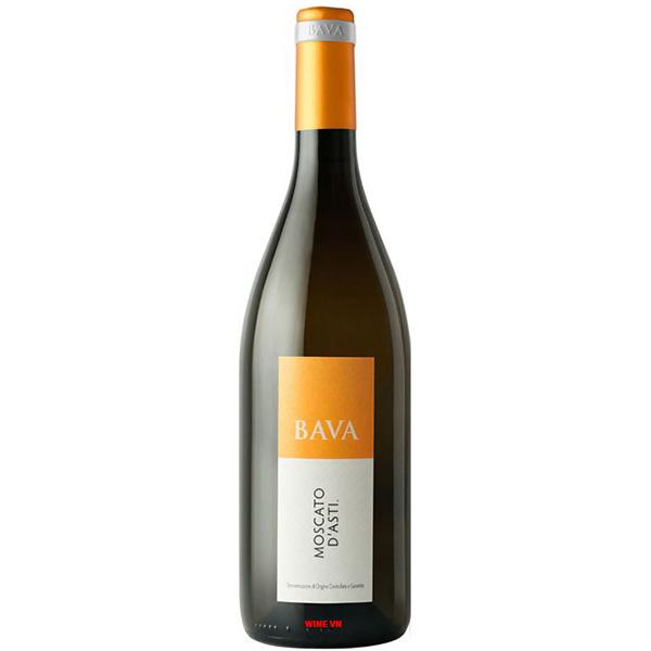 Rượu Vang Bava Moscato D'Asti