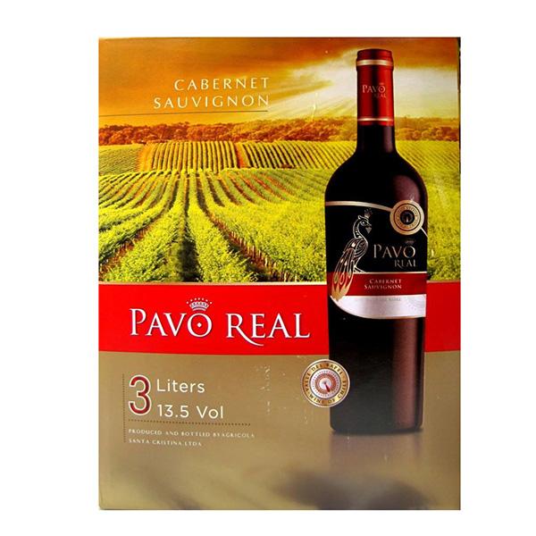 Rượu Vang Bịch Pavo Real Cabernet Sauvignon