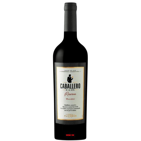 Rượu Vang Caballero De La Cepa Reserva Malbec