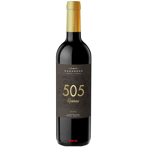 Rượu Vang Casarena 505 Reserva Malbec