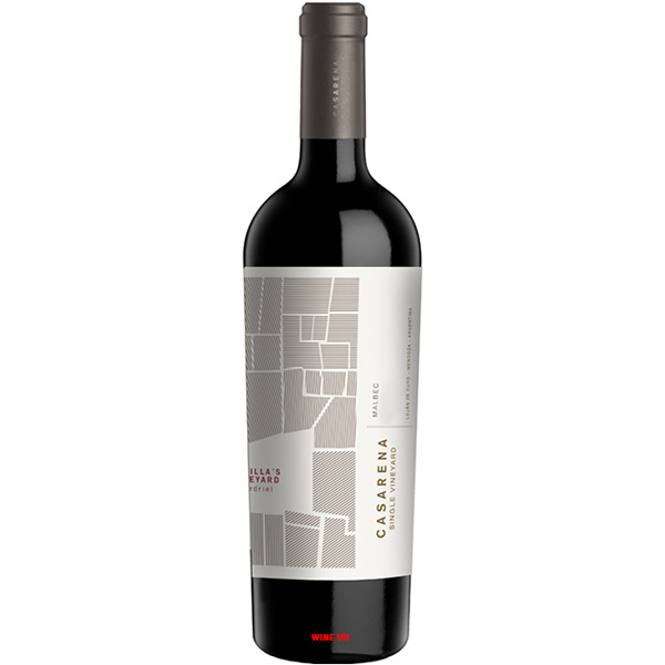 Rượu Vang Casarena Single Vineyard Perdriel Malbec