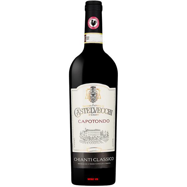 Rượu Vang Castelvecchi Capotondo Chianti Classico