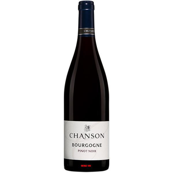 Rượu Vang Chanson Bourgogne Pinot Noir
