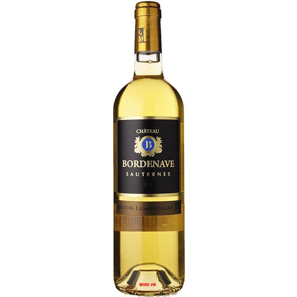 Rượu Vang Chateau Bordenave Sauternes