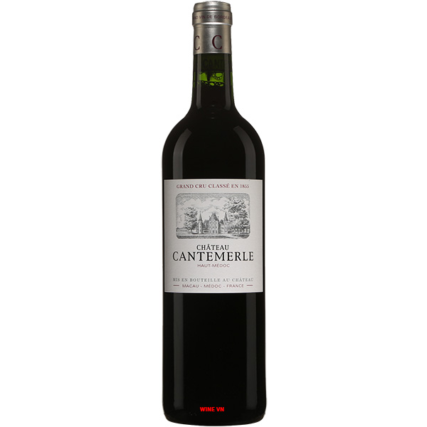 Rượu Vang Chateau Cantemerle