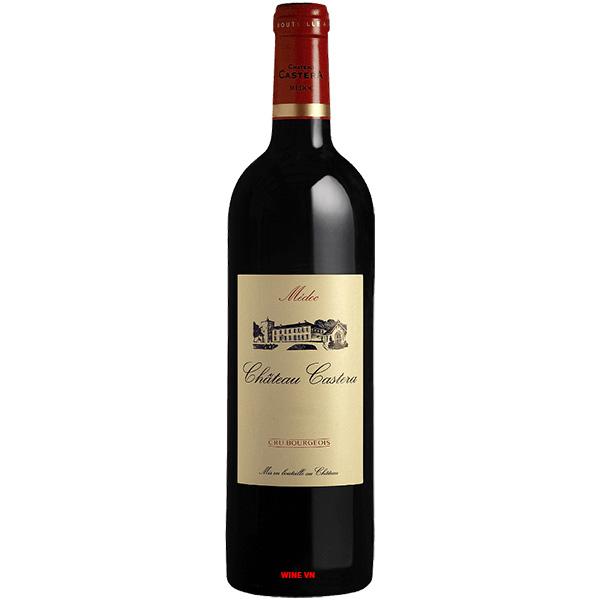 Rượu Vang Chateau Castera Cru Bourgeois