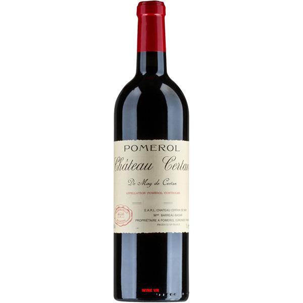 Rượu Vang Chateau Certan De May Pomerol