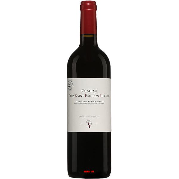 Rượu Vang Chateau Clos Saint Emilion Philippe