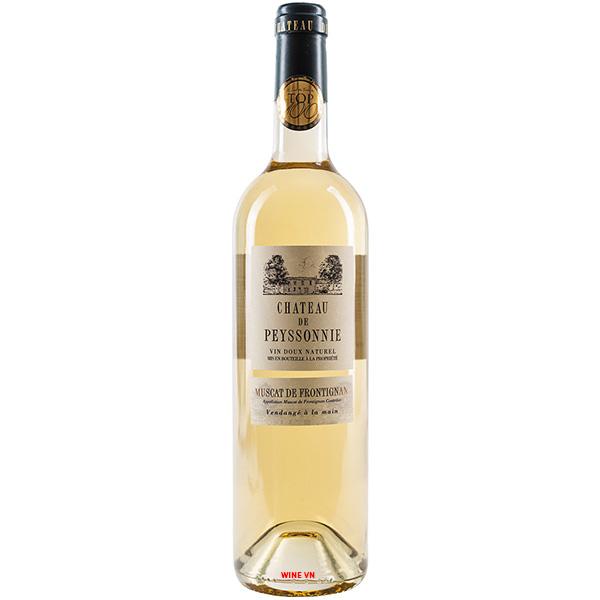 Rượu Vang Chateau De Peyssonnie Muscat