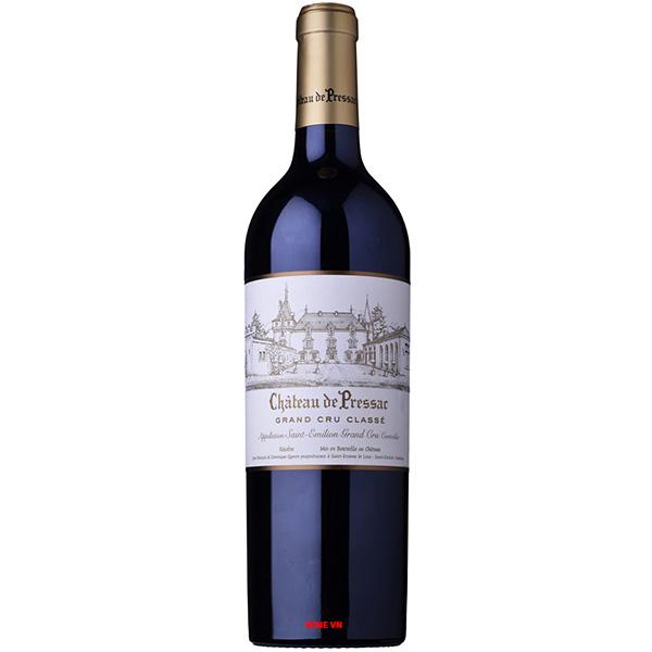 Rượu Vang Chateau De Pressac Grand Cru Classe