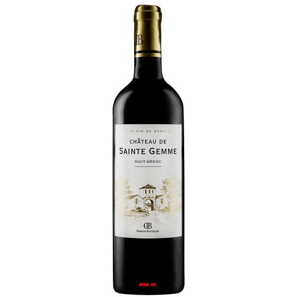 Rượu Vang Chateau De Saint Gemme Haut Medoc