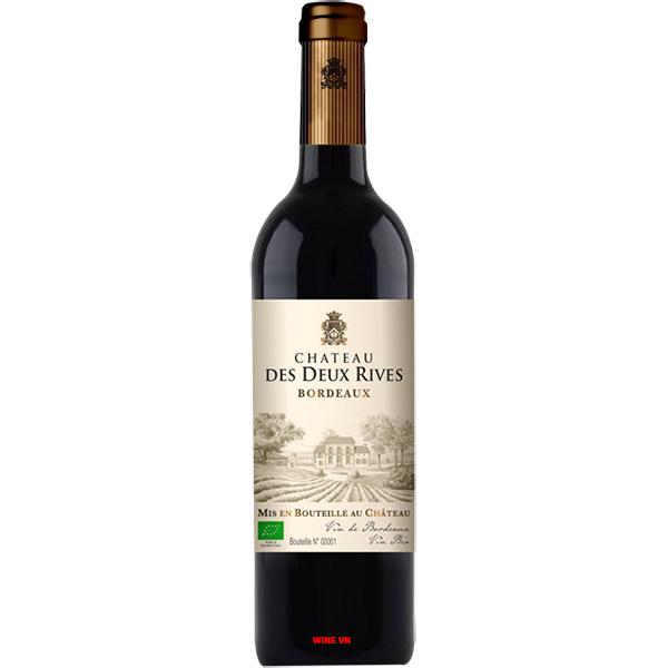 Rượu Vang Chateau Des Deux Rives Bordeaux