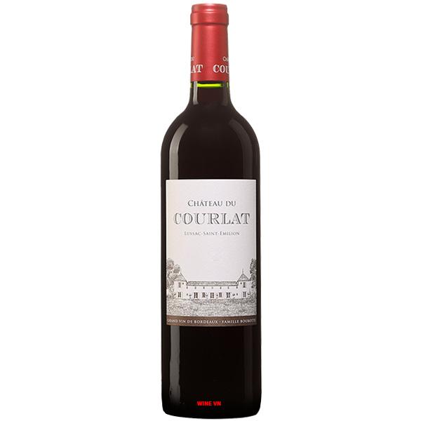 Rượu Vang Chateau Du Courlat Lussac Saint Emilion