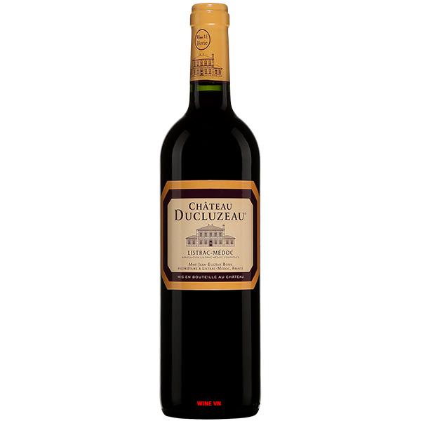 Rượu Vang Chateau Ducluzeau