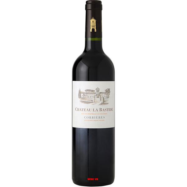 Rượu Vang Chateau La Bastide Tradition Rouge