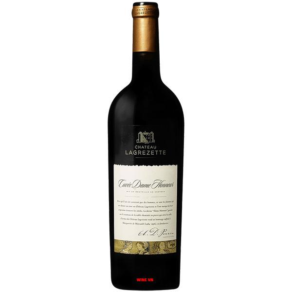 Rượu Vang Chateau Lagrezette Cuvée Dame Honneur